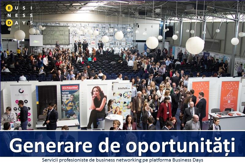 Generation of opportunities on the Business Days platform