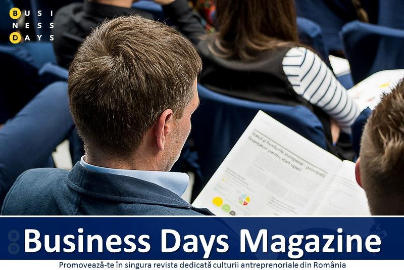 Promoveaza-te in revista Business Days Magazine
