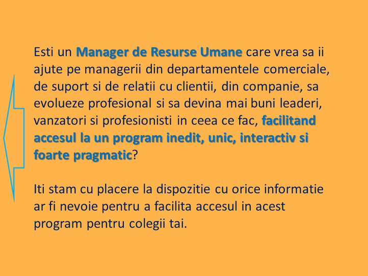 6. Descriere HR Manageri