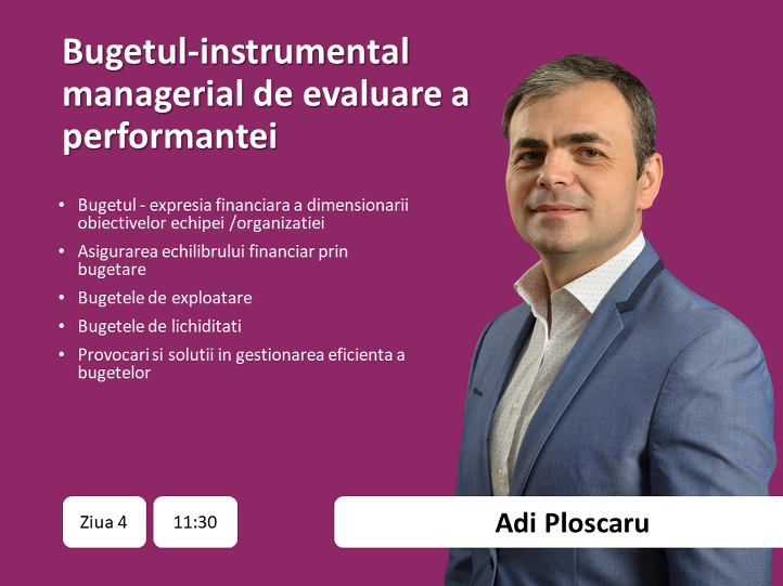 Adi Ploscaru - data, ora, topic principal