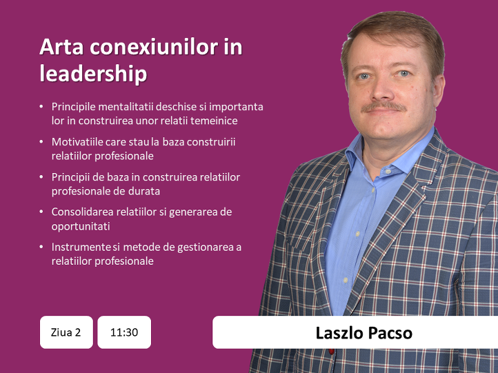 2. Laszlo Pacso - expert in business networking
