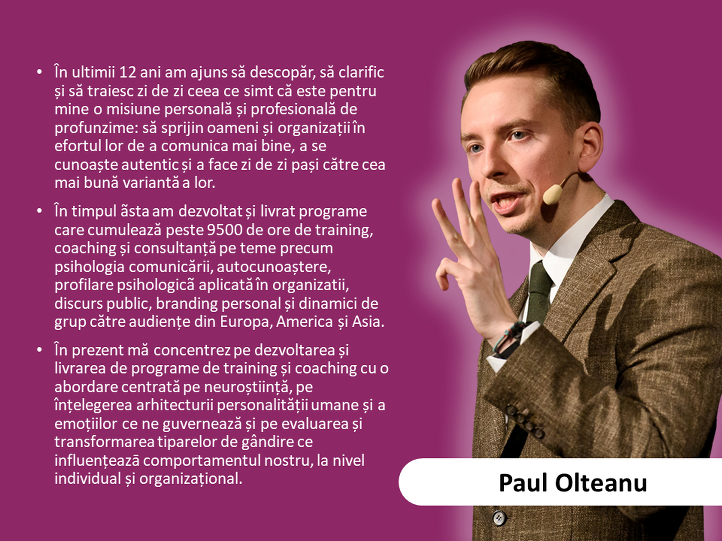 12. Paul Olteanu - Invitat special - expert in neurostiinte