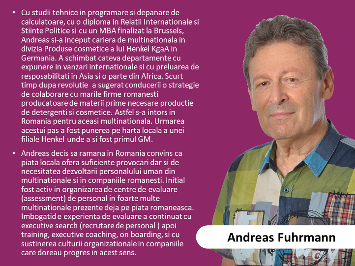 4. Andreas Fuhrmann - expert in leadership