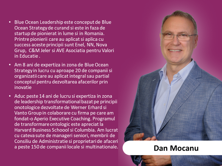 7. Dan Mocanu - expert in strategie si planificare strategica