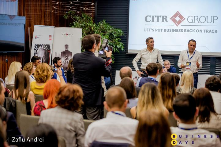 Decizii de business dificile in momente de cumpana - powered by CITR Group