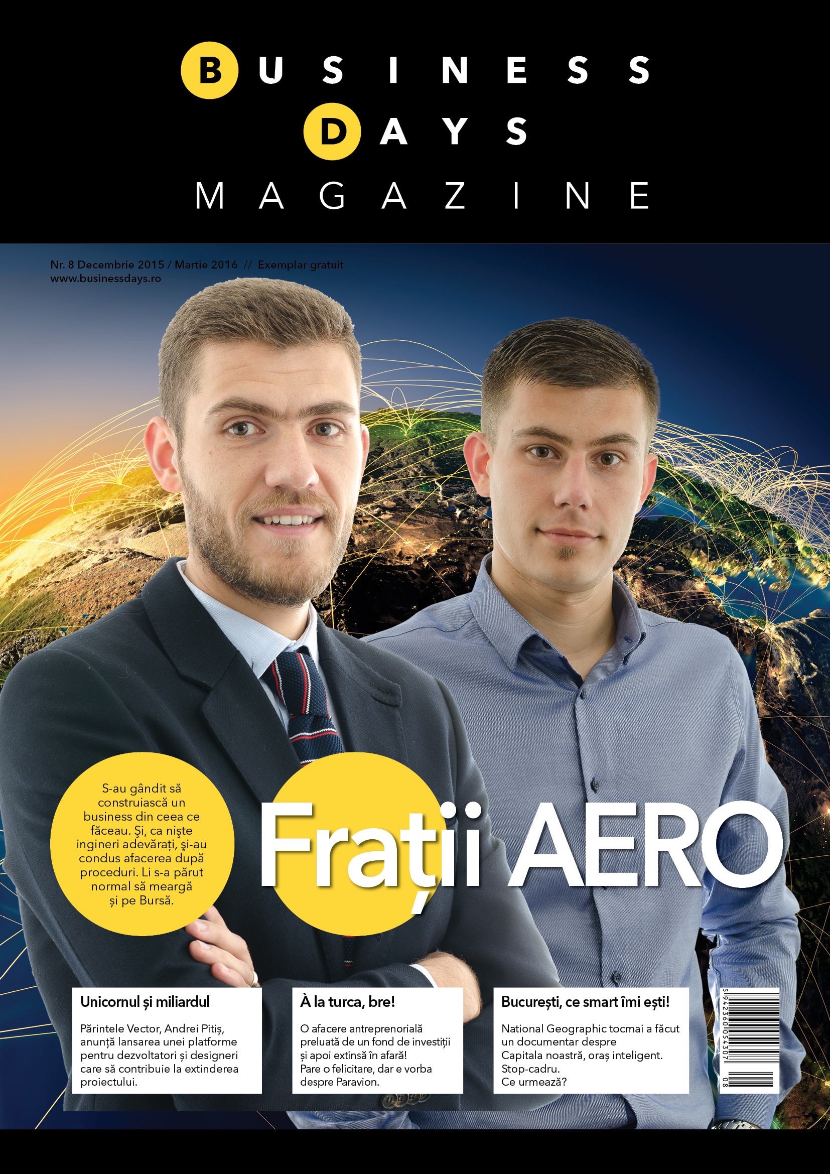 Business Days Magazine - numarul 8