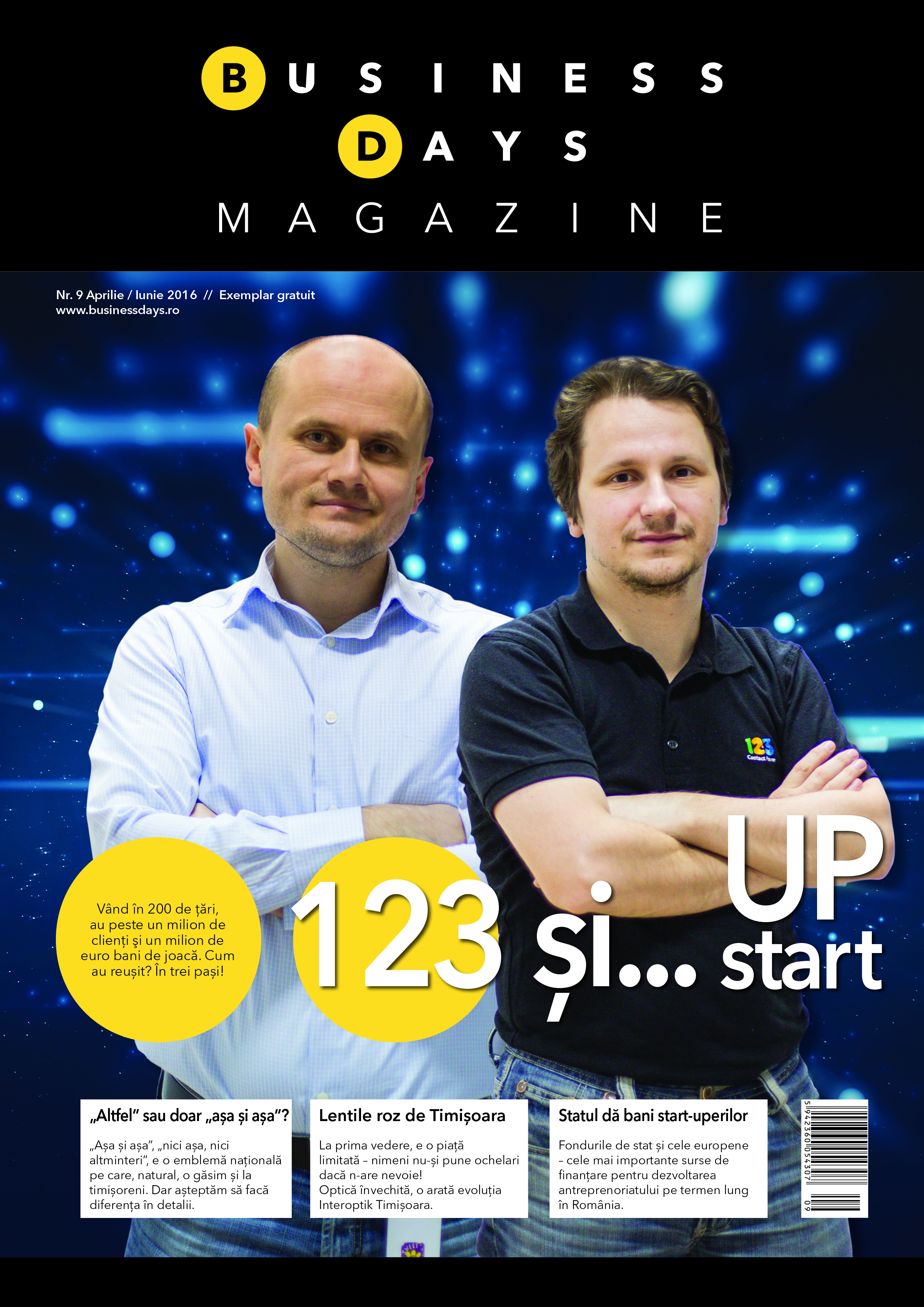 Business Days Magazine - numarul 9